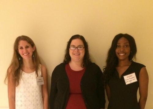 Summer 2017: Katie Little '18, Dr. Sockol & Erica Robinson (North Carolina A&T).