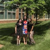 2018-2019: Emily Redler '20, Isabella Pallotto '19 & Maria Rojas '21.